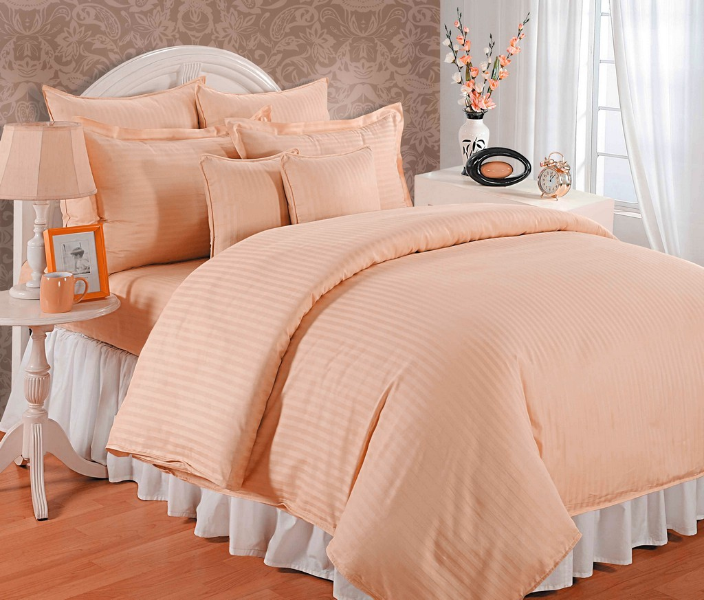 Image result for peach brocade bed sheet